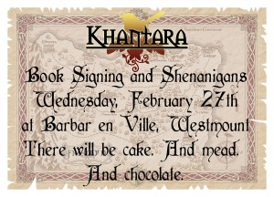 Khantara Book Signing